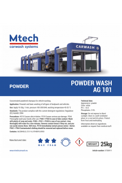 POWDER WASH AG101 25KG