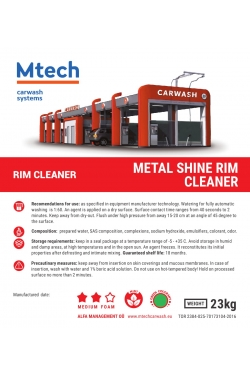 METAL SHINE RIM CLEANER MINT 20L