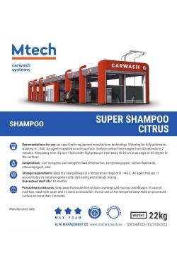 SUPER SHAMPOO CITRUS 20L