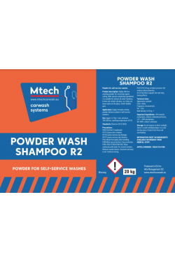 Shampoo Powder Wash Version R2 20 kg