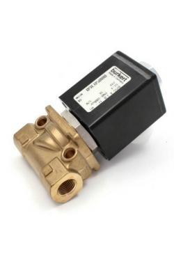 solenoid valve 255 brass 1/4´ Viton seals+Teflon (267791) Burkert
