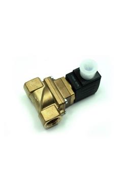 """Solenoid Valve 6281 brass 1/2"""", VITON sealing (00240986) Burkert"""