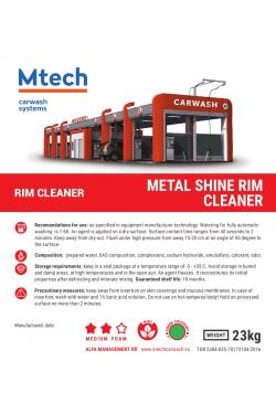 METAL SHINE RIM CLEANER (GREEN / MINT) 23KG